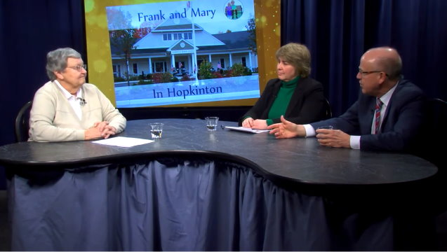 Frank and Mary in Hopkinton